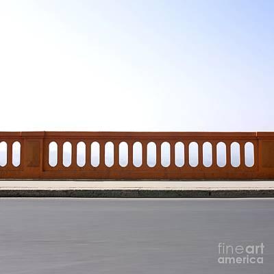 Asphalt Photograph - Absence by Bernard Jaubert