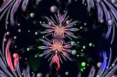Abstract 014 Art Print by Maria Urso