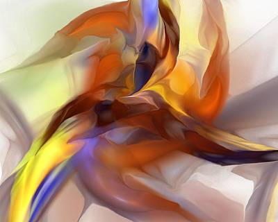 Owls - Abstract 021812 by David Lane