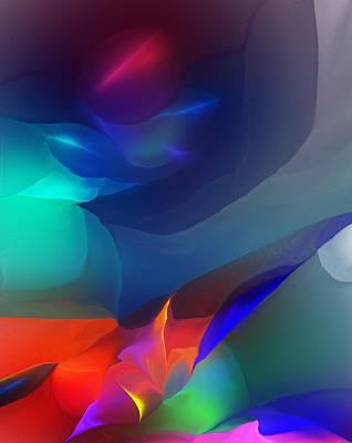 Keith Richards - Abstract 051312 by David Lane