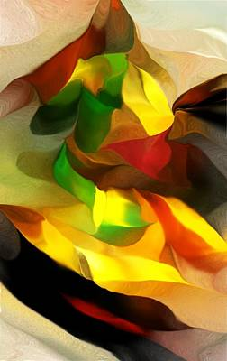 Abstract 080512 Art Print by David Lane