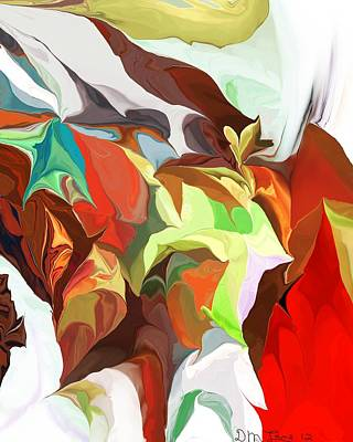 Digital Art - Abstract 090112 by David Lane