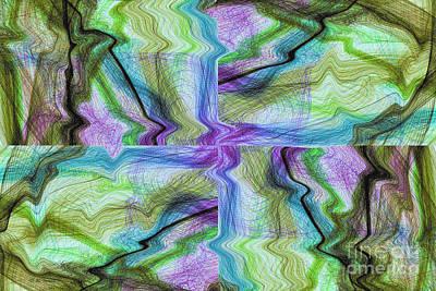 Abstract Digital Art Mixed Media - Abstract 10 by Deborah Benoit