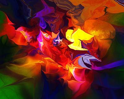 Digital Art - Abstract 120711 by David Lane