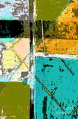 Color Block Painting - Abstract 2 by Glennis Siverson
