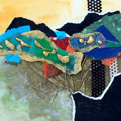 Painting - Abstract 2011 No.1 by Kathy Braud