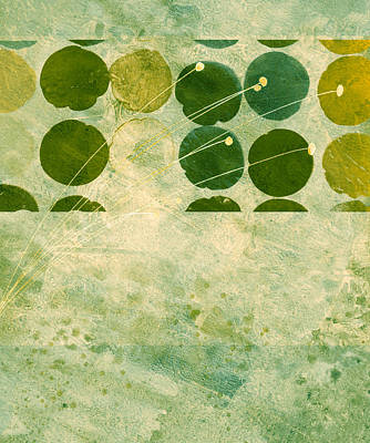 Abstract 207 Art Print by Ann Powell