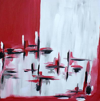 Lively But Commented Painting - Abstract 27 by Sandra Conceicao
