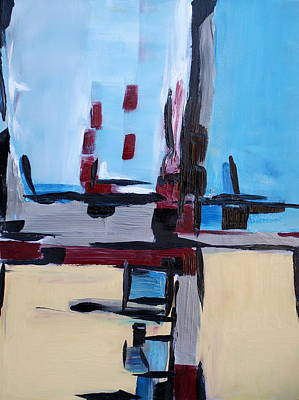 Lively But Commented Painting - Abstract 31 by Sandra Conceicao