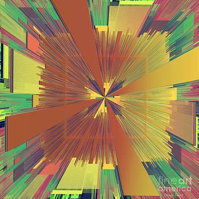 Gree Digital Art - Abstract 4 by Deborah Benoit