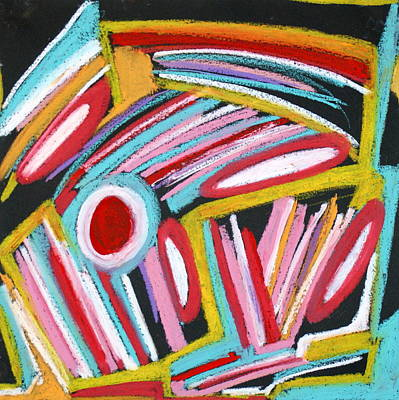Lively But Commented Painting - Abstract 4 by Sandra Conceicao
