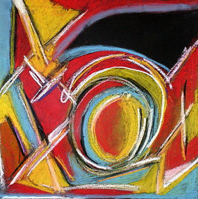 Lively But Commented Painting - Abstract 9 by Sandra Conceicao