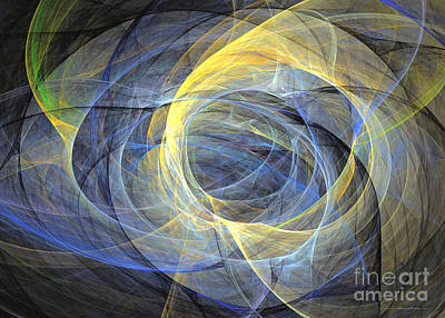 Abstract Art - Delightful Mood Of Abstracted Mind Art Print by Abstract art prints by Sipo