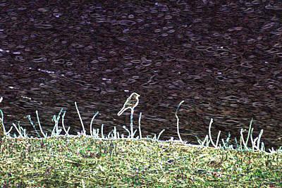 Wall Art - Digital Art - Abstract Bird by Bill Kennedy