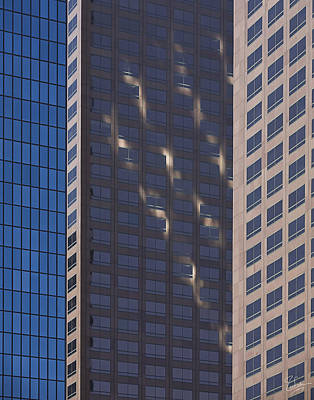 Photograph - Abstract Buildings 2 by Endre Balogh