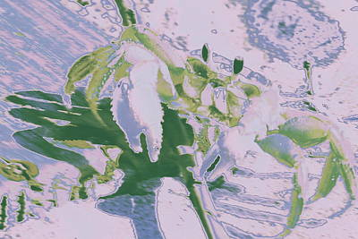 Abstract Crab1 Art Print