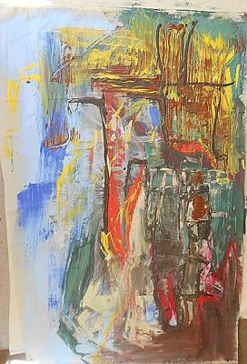 Etc. Painting - Abstract Delight by Ulrich De Balbian