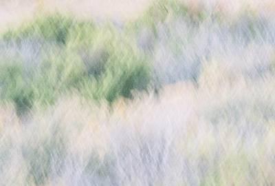 Abstract Desert Art Print by