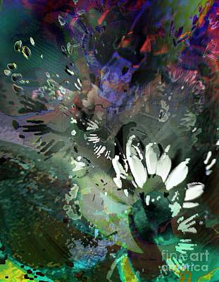 Digital Art - Abstract Dreamscape Number 2 by Doris Wood
