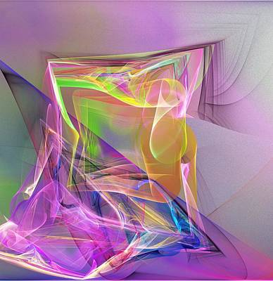 Digital Art - Abstract Erotica  101511a by David Lane