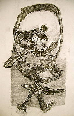 Painting - Abstract Expressionist Experimental Sketch 2  by Cliff Spohn