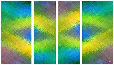 Abstract Fusion 105 Art Print