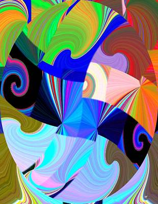 Digital Art - Abstract Fusion 26 by Will Borden