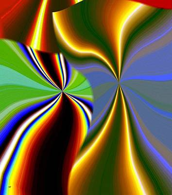 Digital Art - Abstract Fusion 52 by Will Borden