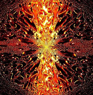 Abstract Fusion 73 Print by Will Borden