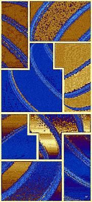 Abstract Fusion 91 Art Print