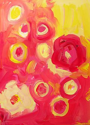 Painting - Abstract  Circles by Patricia Awapara