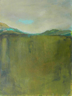 Painting - Abstract Landscape - Distant Hills by Kathleen Grace