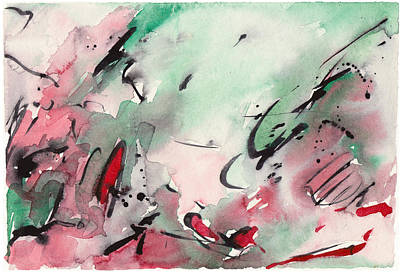 Painting - Abstract Landscape 031 by Joe Michelli