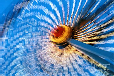 Photograph - Abstract Ride 2 by Susan Stevenson