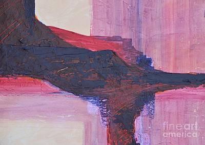 Abstract Ruins Art Print