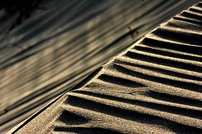 Abstract Sand 1 Art Print by Arie Arik Chen