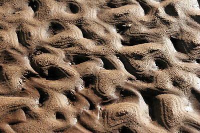 Abstract Sand 3 Art Print by Arie Arik Chen