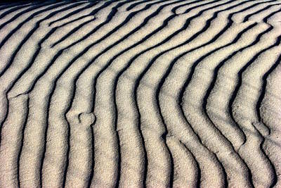 Abstract Sand Photograph - Abstract Sand 5 by Arie Arik Chen