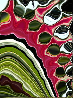 Painting - Abstract Seed Pods by Renate Nadi Wesley