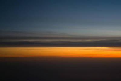 Airoplane Photograph - Abstract Sky Through A Plane Window by Pixie Copley