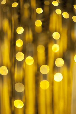 Abstract Spots Of Light, Bokeh Art Print by Brian Stablyk