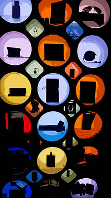 Digital Art - Abstract Stuff by Susan Stone
