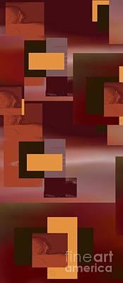 Digital Art - Abstract Tapestry 1 by Vicki Lynn Sodora