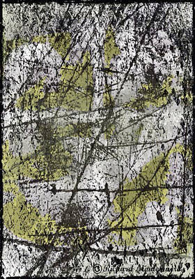 Abstract With Black Lines Original by Richard  Montemurro