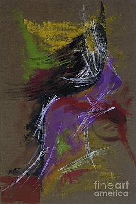 Painting - Abstract Woman by Vilas Malankar