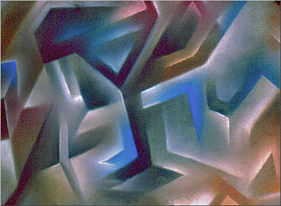 Pastel - Abstraction 1984 by Glenn Bautista