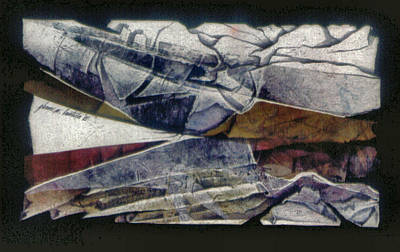 Painting - Abstraction5 1985 by Glenn Bautista