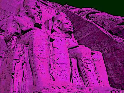 Photograph - Abu Simbel by George Pedro