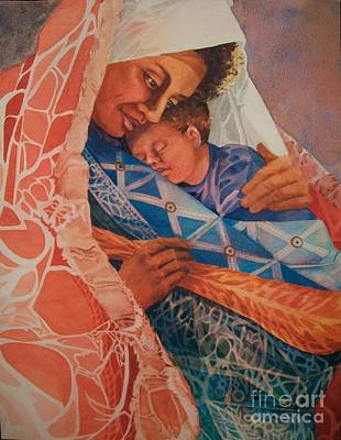 Abuela Two Art Print by Judith A Smothers
