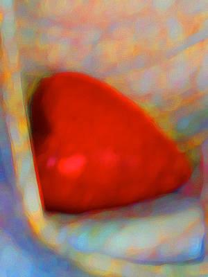 Print featuring the digital art Abundant Love by Richard Laeton